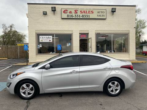 2015 Hyundai Elantra for sale at C & S SALES in Belton MO