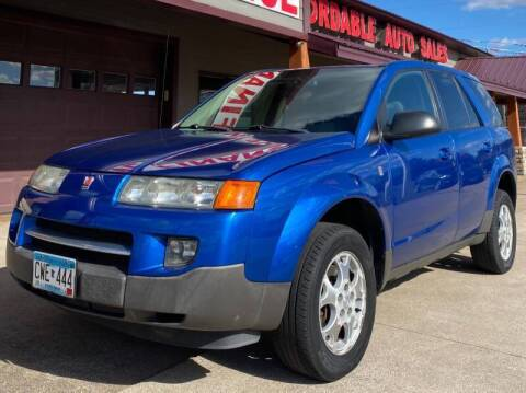 2004 Saturn Vue for sale at Affordable Auto Sales in Cambridge MN