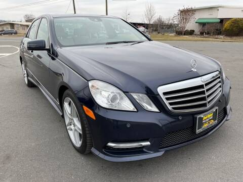 2012 Mercedes-Benz E-Class for sale at Shell Motors in Chantilly VA