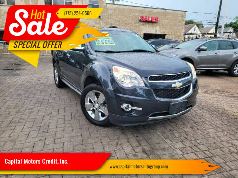 2013 Chevrolet Equinox for sale at Capital Motors Credit, Inc. in Chicago IL