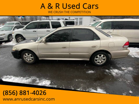2001 Honda Accord for sale at A & R Used Cars in Clayton NJ