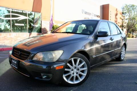 2003 Lexus IS 300 for sale at CK Motors in Murrieta CA