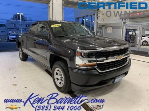 2016 Chevrolet Silverado 1500 for sale at KEN BARRETT CHEVROLET CADILLAC in Batavia NY