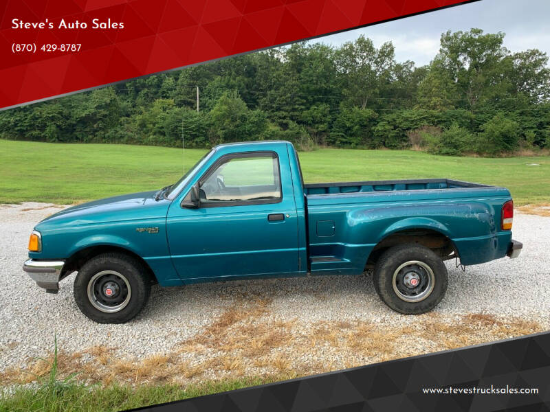 1997 Ford Ranger for sale at Steve's Auto Sales in Harrison AR