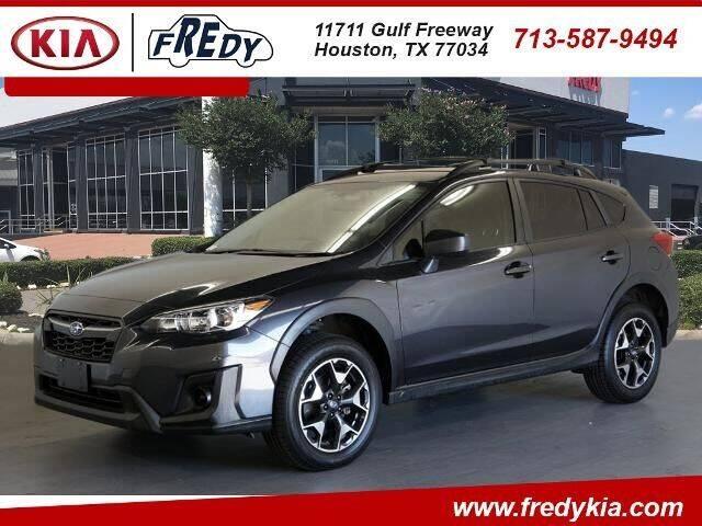 2019 Subaru Crosstrek for sale at FREDY KIA USED CARS in Houston TX