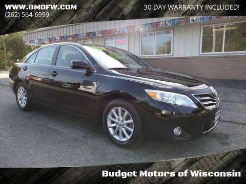 2011 Toyota Camry for sale at Budget Motors of Wisconsin in Racine WI