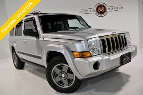 2007 Jeep Commander for sale at Unlimited Motors in Fishers IN