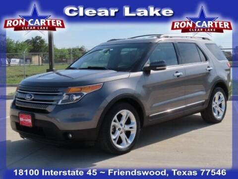 2011 Ford Explorer for sale at Ron Carter  Clear Lake Used Cars in Houston TX