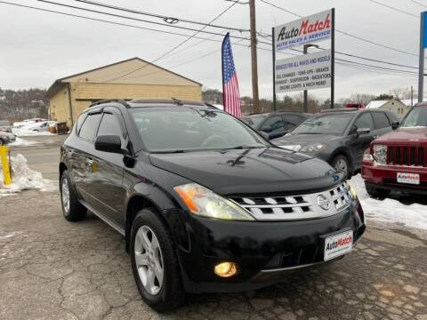 2005 Nissan Murano for sale at Auto Match in Waterbury CT