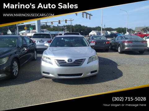 2007 Toyota Camry Hybrid for sale at Marino's Auto Sales in Laurel DE