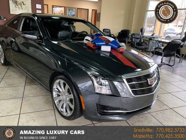 2016 Cadillac ATS for sale at Amazing Luxury Cars in Snellville GA