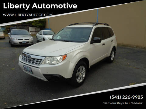 2011 Subaru Forester for sale at Liberty Automotive in Grants Pass OR