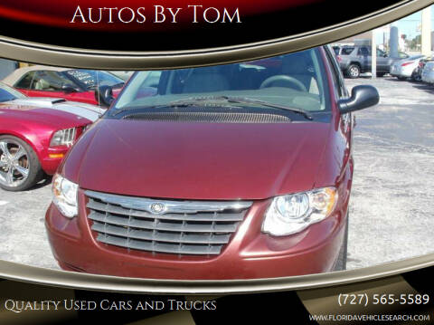 2007 Chrysler Town and Country for sale at Autos by Tom in Largo FL