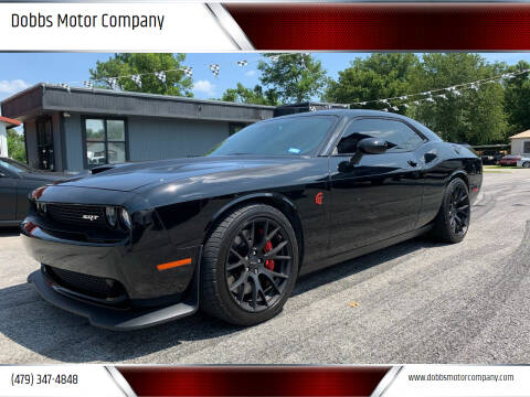 2016 Dodge Challenger for sale at Dobbs Motor Company in Springdale AR