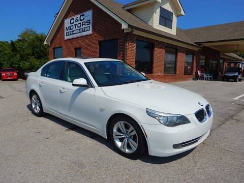 2010 BMW 5 Series for sale at C & C MOTORS in Chattanooga TN