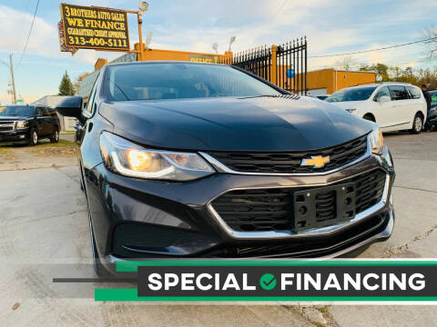 2017 Chevrolet Cruze for sale at 3 Brothers Auto Sales Inc in Detroit MI