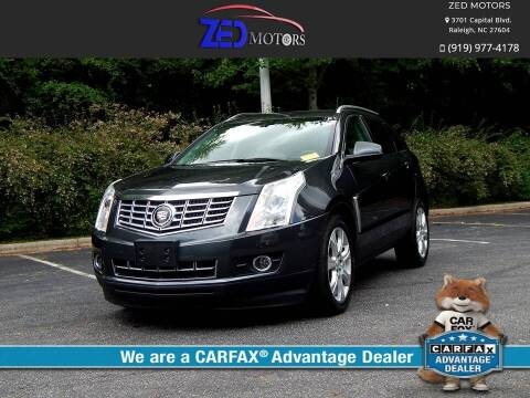 2016 Cadillac SRX for sale at Zed Motors in Raleigh NC