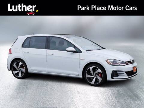 2019 Volkswagen Golf GTI for sale at Park Place Motor Cars in Rochester MN