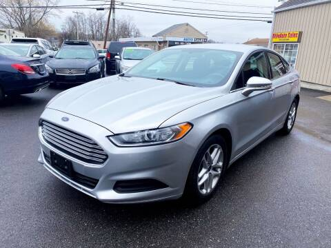 2016 Ford Fusion for sale at Dijie Auto Sale and Service Co. in Johnston RI