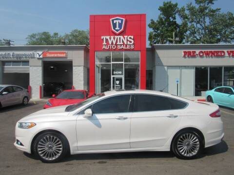 2016 Ford Fusion for sale at Twins Auto Sales Inc in Detroit MI