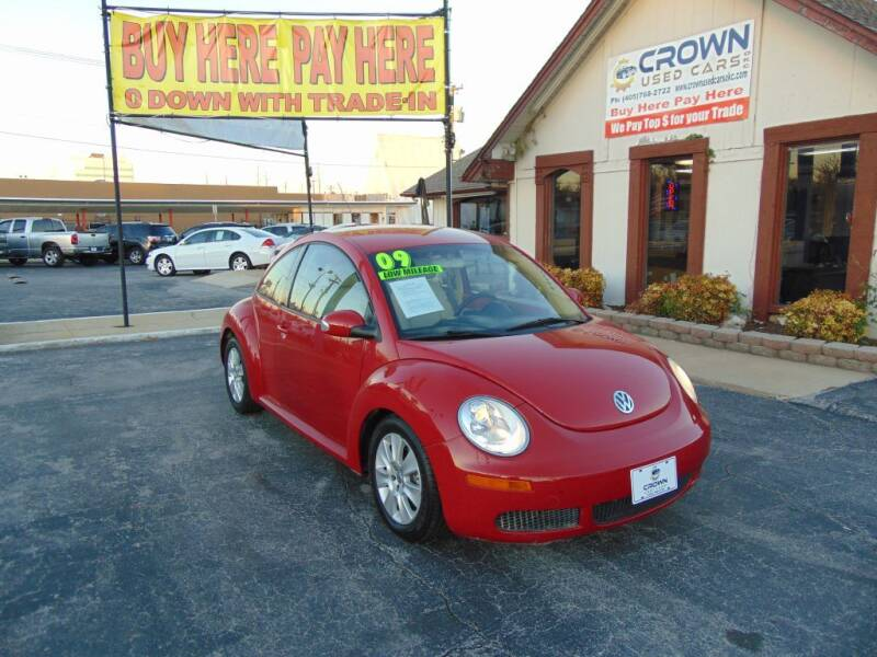 2009 Volkswagen New Beetle for sale at Crown Used Cars in Oklahoma City OK