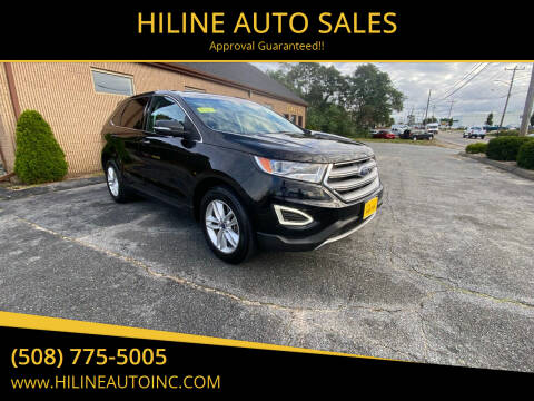 2016 Ford Edge for sale at HILINE AUTO SALES in Hyannis MA
