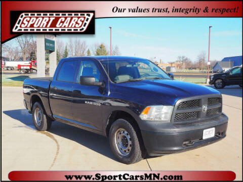 2012 RAM Ram Pickup 1500 for sale at SPORT CARS in Norwood MN