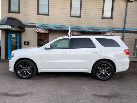 2018 Dodge Durango for sale at Sisson Pre-Owned in Uniontown PA