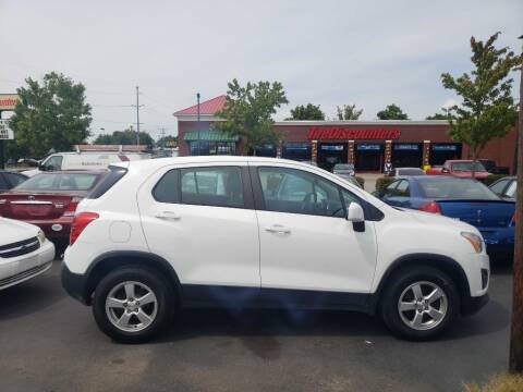 2015 Chevrolet Trax for sale at Rayyan Auto Sales LLC in Lexington KY