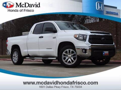 2020 Toyota Tundra for sale at DAVID McDAVID HONDA OF IRVING in Irving TX