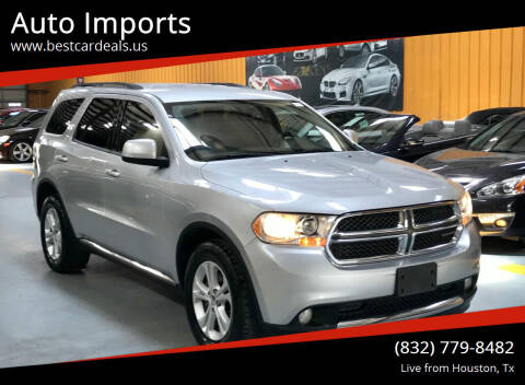 2011 Dodge Durango for sale at Auto Imports in Houston TX
