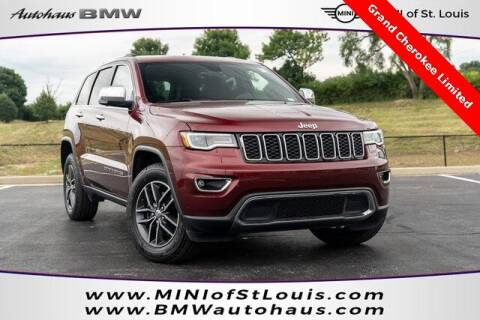 2018 Jeep Grand Cherokee for sale at Autohaus Group of St. Louis MO - 40 Sunnen Drive Lot in Saint Louis MO