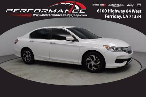 2016 Honda Accord for sale at Performance Dodge Chrysler Jeep in Ferriday LA