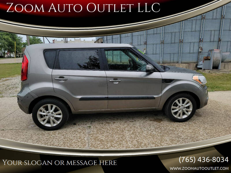 2012 Kia Soul for sale at Zoom Auto Outlet LLC in Thorntown IN