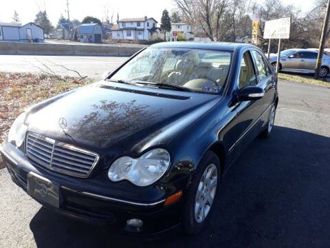 2005 Mercedes-Benz C-Class for sale at GALANTE AUTO SALES LLC in Aston PA