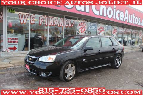 2007 Chevrolet Malibu Maxx for sale at Your Choice Autos - Joliet in Joliet IL