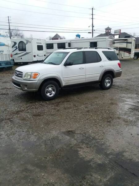 2003 Toyota Sequoia for sale at DALE GREEN MOTORS in Mountain Home AR