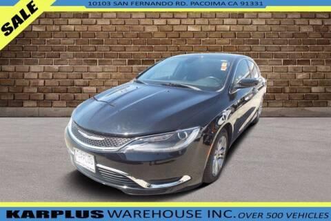 2016 Chrysler 200 for sale at Karplus Warehouse in Pacoima CA
