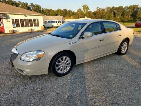 2010 Buick Lucerne for sale at Premier Auto Solutions & Sales in Quinton VA