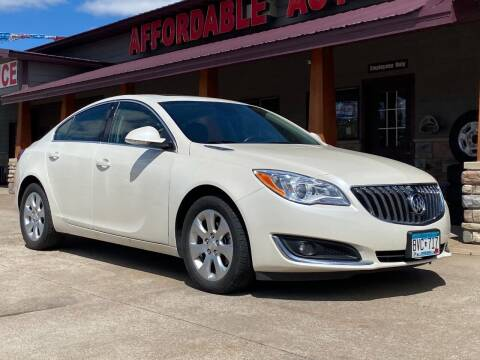 2015 Buick Regal for sale at Affordable Auto Sales in Cambridge MN