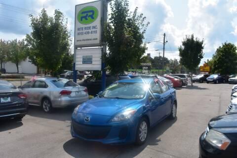 2012 Mazda MAZDA3 for sale at Rite Ride Inc in Murfreesboro TN