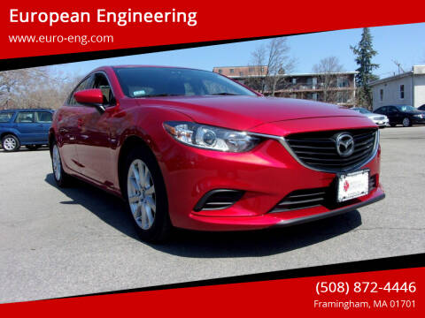 2014 Mazda MAZDA6 for sale at European Engineering in Framingham MA