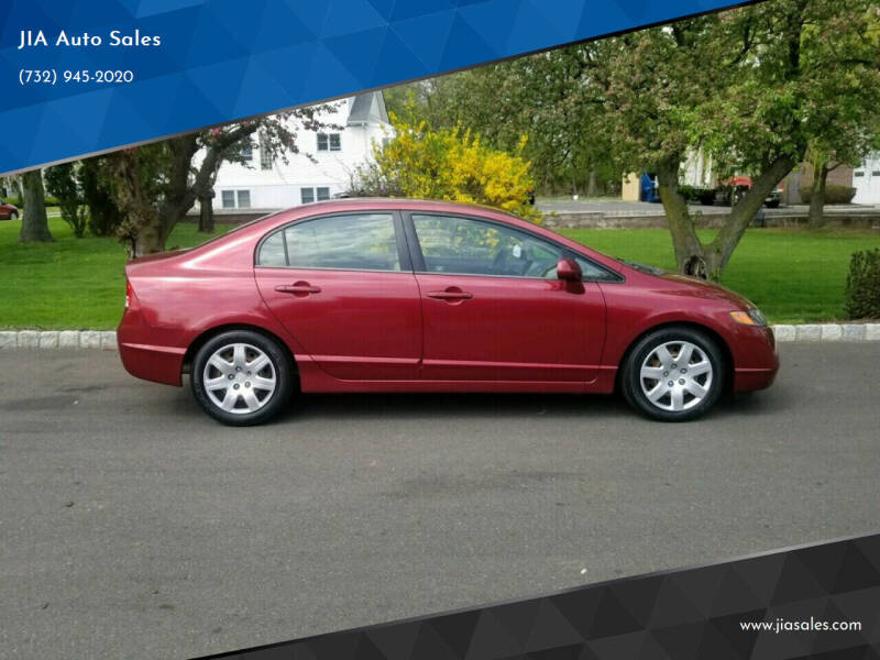 2006 Honda Civic for sale at JIA Auto Sales in Port Monmouth NJ