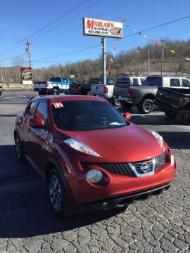 2012 Nissan JUKE for sale at MARLAR AUTO MART SOUTH in Oneida TN