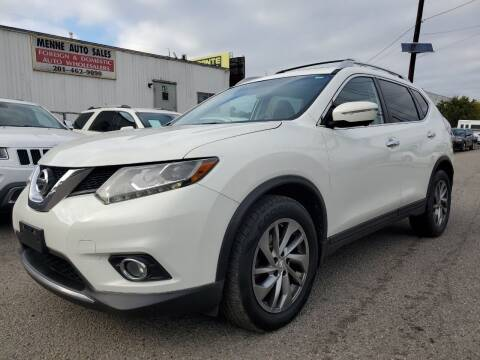 2014 Nissan Rogue for sale at MENNE AUTO SALES LLC in Hasbrouck Heights NJ