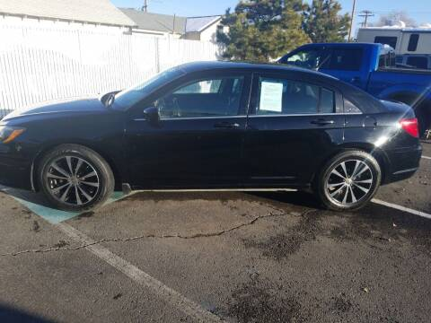 2013 Chrysler 200 for sale at Freds Auto Sales LLC in Carson City NV