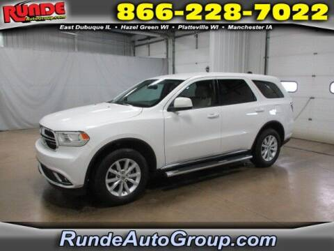2020 Dodge Durango for sale at Runde Chevrolet in East Dubuque IL