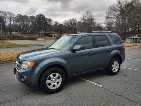 2010 Ford Escape for sale at WIGGLES AUTO SALES INC in Mableton GA
