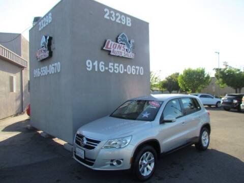 2009 Volkswagen Tiguan for sale at LIONS AUTO SALES in Sacramento CA