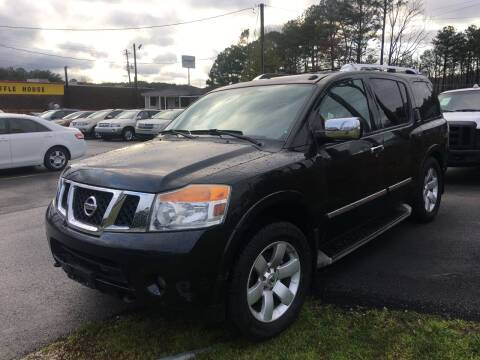 2010 Nissan Armada for sale at Georgia Car Shop in Marietta GA